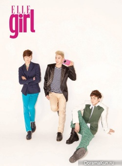 NU'EST для Elle Girl Korea April 2012
