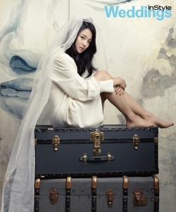 Nam Bo Ra для InStyle Weddings Korea April 2012