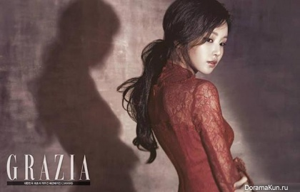 Nam Gyu Ri для GRAZIA Korea October 2013