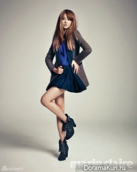 Oh Yeon Seo для Marie Claire October 2012