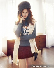 Oh Yeon Seo для QUA Winter 2012 CF