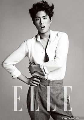 Park Bo Gum для Elle Korea May 2013