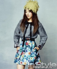 Park Bo Young для InStyle January 2013 Extra
