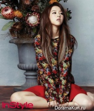 Park Bo Young для InStyle January 2013