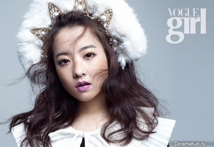 Park Bo Young для Vogue Girl March 2014