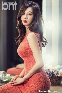 Park Eun Ji для BNT International April 2014