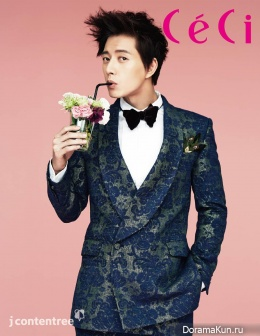 Park Hae Jin и др. для CeCi January 2014