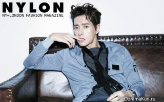 Park Hae Jin для Nylon March 2014