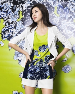 Park Han Byul для Bluepepe 2012 Summer Collection