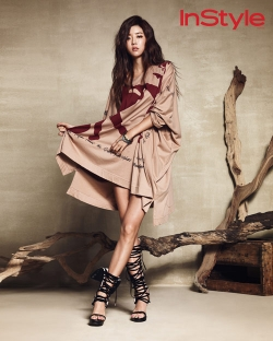 Park Han Byul для InStyle Korea July 2012