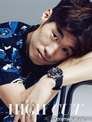 Park Ji Sung для High Cut Magazine Vol.127