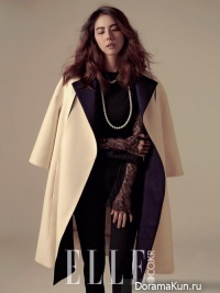 Park Ji Yoon для Elle Korea November 2013