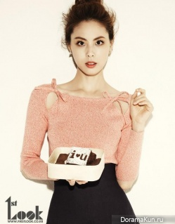 Park Ji Yoon для First Look Vol. 38