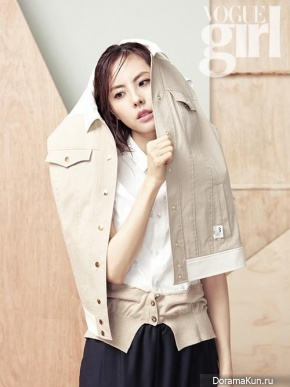 Park Ji Yoon для Vogue Girl Korea March 2013