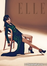 Park Jin Hee для Elle Korea October 2012