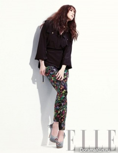 Park Min Young для Elle January 2013