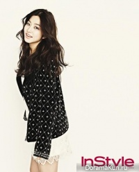 Park Se Young для InStyle February 2013