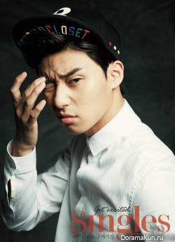 Park Seo Joon для Singles Korea October 2013