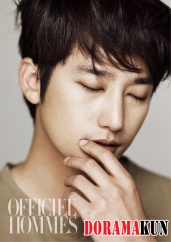 Park Shi Hoo для L'Officiel Hommes January 2012