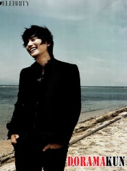 Park Shi Hoo для Marie Claire December 2011