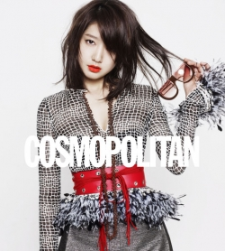 Park Shin Hye для Cosmopolitan Korea May 2011