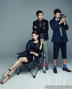 Park Shin Hye, Yoon Kye Sang для Cosmopolitan Korea May 2013