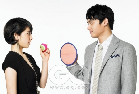 Park Shin Hye, Oh Sang Jin для GQ Korea May 2010