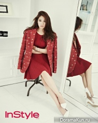 Park Shin Hye для InStyle Korea October 2013