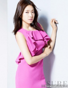 Park Shin Hye для SURE Korea May 2013