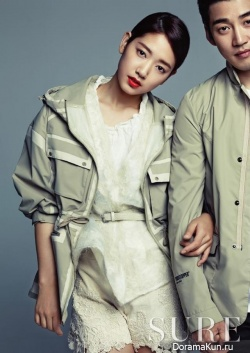 Park Shin Hye, Yoon Kye Sang для SURE Korea May 2013