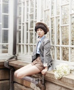 Park Shin Hye для Vogue Girl Korea April 2010