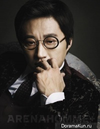 Park Shin Yang для Arena Homme Plus January 2013