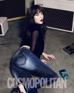 Park Si Yeon для Cosmopolitan Korea May 2012