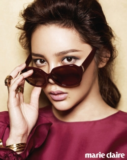 Park Si Yeon для Marie Claire Korea May 2012