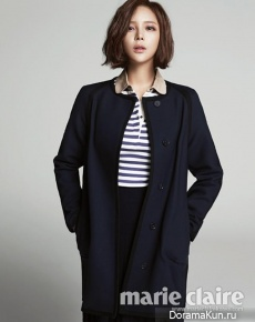 Park Si Yeon для Marie Claire November 2012 Extra