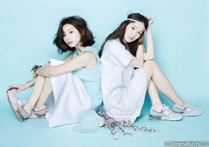 Park Soo Jin, Kim Si Jin для Oh Boy! Vol.45