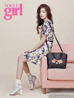 Secret (Sunhwa, HyoSung) для Vogue Girl March 2014