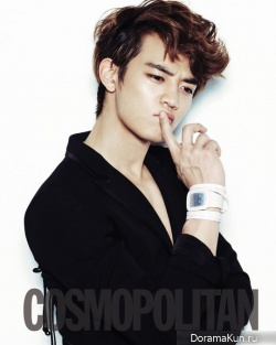 SHINee's Minho, Key для Cosmopolitan Korea May 2012