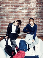 SHINee для Elle Girl Korea March 2011