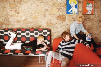 SHINee для Elle Korea January 2012