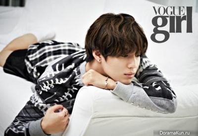 SHINee (Taemin) для Vogue Girl December 2013