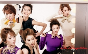 SNSD для Cosmopolitan Korea September 2010