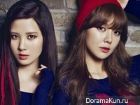 SNSD (Sooyoung, Seohyun) для Cosmopolitan Korea September 2013