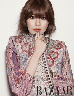 Sooyoung (SNSD) для Harper's Bazaar January 2013