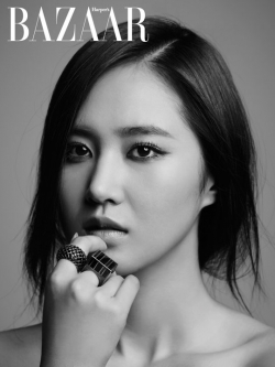 SNSDs Yuri для Harpers Bazaar Korea July 2012