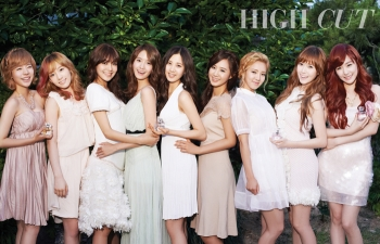 SNSD для High Cut Vol. 79