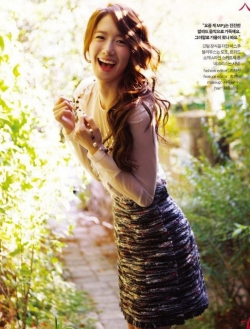 Yoona (SNSD) для InStyle Korea October 2011