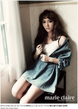 SNSD's Jessica для Marie Claire Korea September 2011