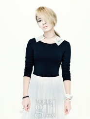 SNSD's Hyoyeon для Vogue Girl Korea November 2011