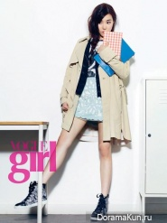 Tiffany (SNSD) для Vogue Girl Korea September 2013